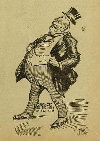1917 caricature.