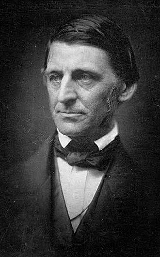 Ralph Waldo Emerson (1803-83).