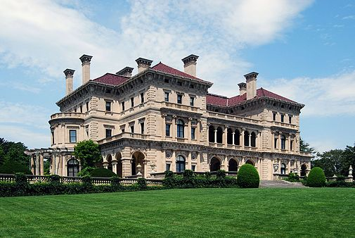 """The Breakers,'' built by the Vanderbilts in Newport in the Gilded Age."