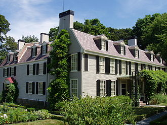 """Peacefield,'' the  former grand house of the Adamses in Quincy, Mass. It's now a museum."