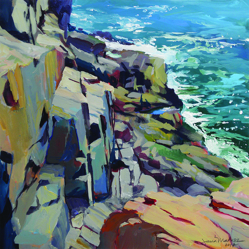 "By Jana Matusz, in the show ""Land, Sea, Sky,"" at ArtProv Gallery, Providence, Sept. 20-Nov. 4."