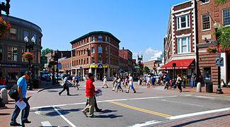 Harvard Square.