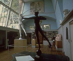 Studio at the Saint-Gaudens National Historical Park.