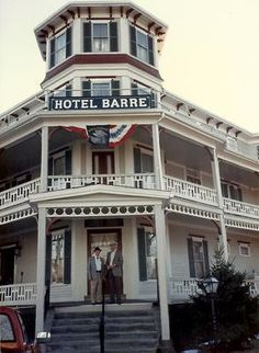 The Barre Hotel, in Barre, Mass. It opened in 1889 and burned down in 1990.