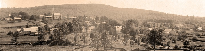 Warren, Conn., around the turn of the 18th Century.