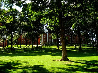 The Main Quad at Amherst College, Amherst, Mass.