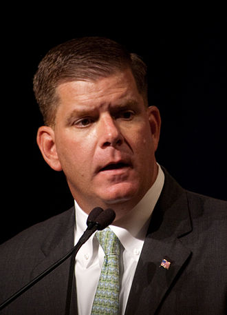 "Boston Mayor Martin (""Marty'') Walsh."