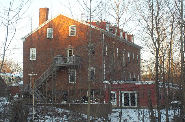 The Middletown (Conn.) Alms (Poor) House, where the town's indigent would live at the expense of the town.