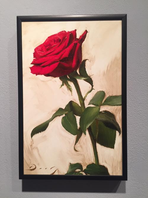 "Untitled oil on panel, by Joseph Q. Daily, in the ""33rd Annual Almost Miniatures Show, at Francesa Anderson Fine Art, Lexington, Mass., through Jan. 13."