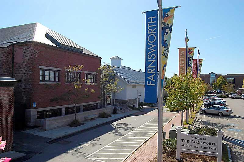 Farnsworth Art Museum, in Rockland, on the Maine coast.