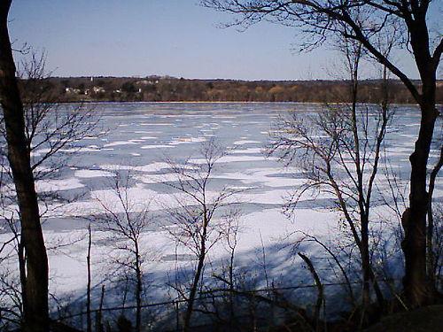 Fresh Pond, in Cambridge, Mass.
