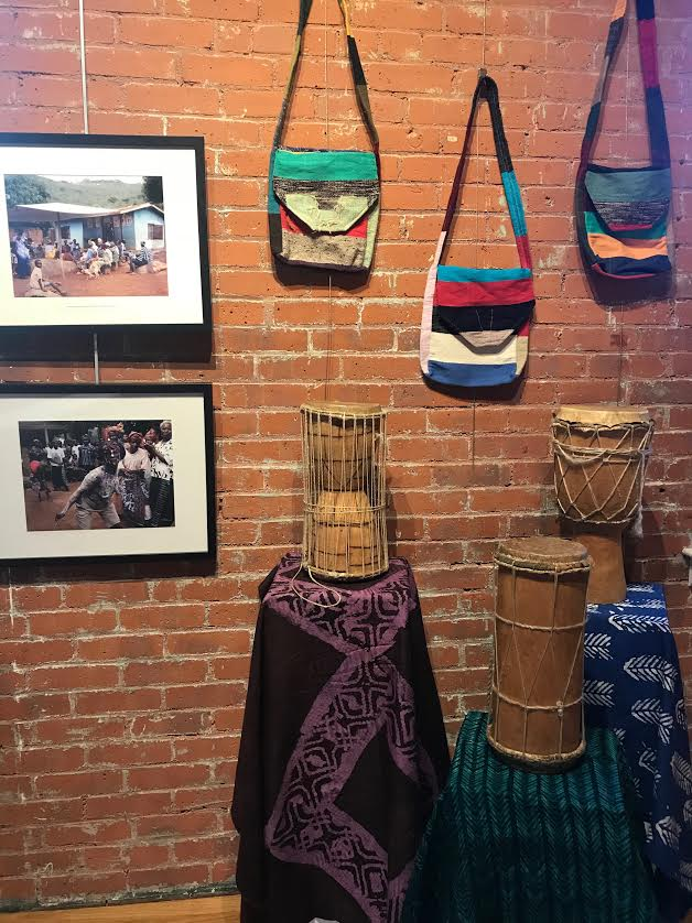 Friends of The Foundation for West Africa  and the  Warwick (R.I.) Center for the Arts (WCA) are hosting an exhibit of photographs, textile and cultural artifacts from West Africa from Jan. 31 through Feb. 23.  The opening reception will be on Thursday,Feb. 1, 6-8 p.m.,at the WCA, 3259 Post Road in Warwick.  The photographs and most of the items on display are from visits to Sierra Leone, Liberia, Senegal and The Gambia over the past 15 years by foundation founder and president Christopher Hamblett. The Warwick Center for the Arts is a beautiful space for the exhibit Please stop by the reception this Thursday, or any time during   gallery hours  . It's a great way to learn about  The Foundation for West Africa's support of community radio stations, and the spectacular cultures of the region.