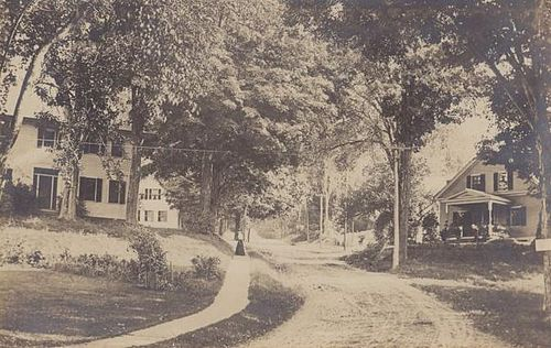 Walpole in 1915. Some of the town hasn't changed that much since then.