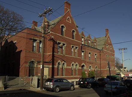 Fields Corner Municipal Building.