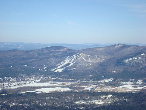 Cranmore Mountain ski area, in North Conway.