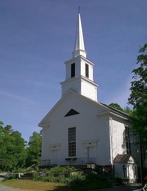 """The White Church'' in Grafton, Vt."