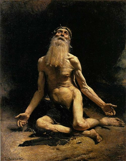 """Job,'' by Leon Bonnat."