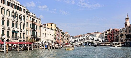 Grand Canal, in Venice.