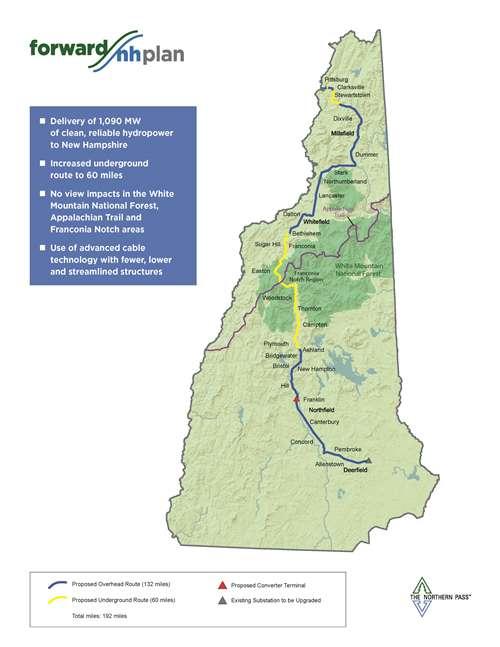 -- Pro-Northern Pass map