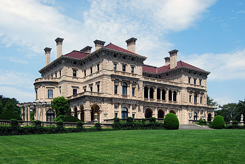 The Breakers, the most famous of the Newport man mansions.