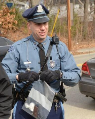 Massachusetts state trooper.    -- MSP.news.org