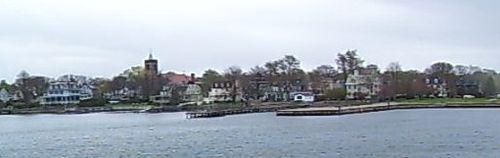 The very low-lying Point neighborhood, in Newport.