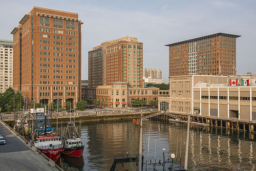 "In Boston's Seaport District, a candidate for Amazon's  ""Second Headquarters.''"