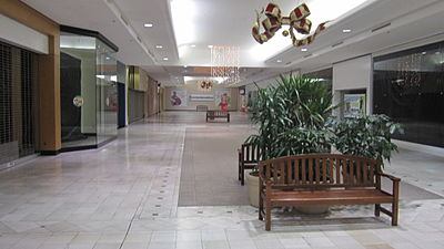 Empty mall in Tallahassee, Fla.