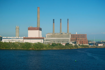 Mystic Station power plant, in Everett, Mass., where two gas-fired units might be closed.