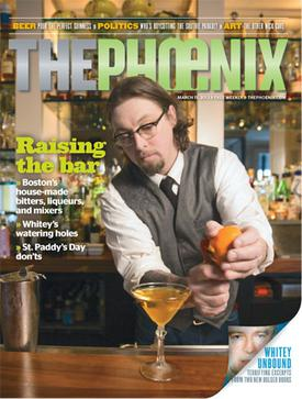 The cover of the last issue of The (Boston) Phoenix, March 15, 2013.