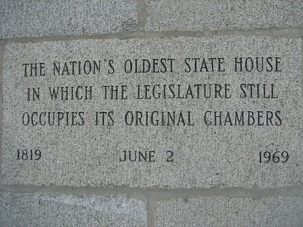 At the New Hampshire State House.