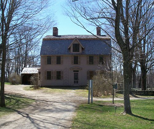 The Old Manse is an old house in Concord, Mass.,  famous for its  historical and literary associations.
