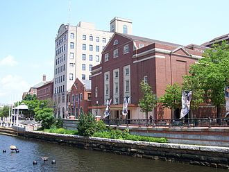 The Rhode Island School of Design, along the banks of the Providence River.