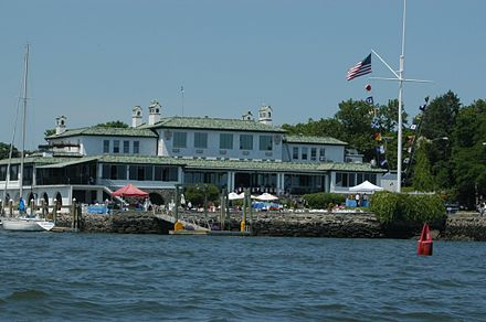 Indian Harbor Yacht Club, in Greenwich, Conn.