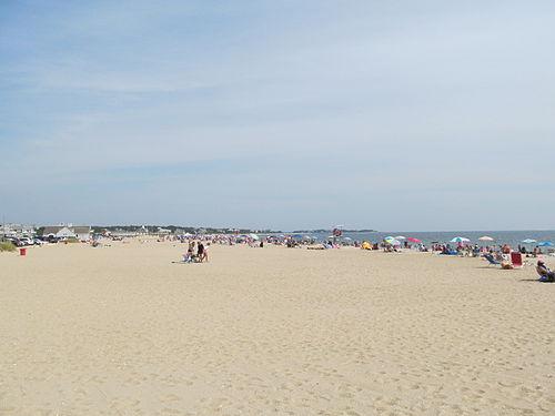 Craigville Beach, on Cape Cod.