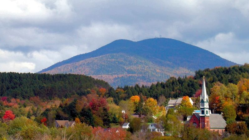 "Burke Mountain, in Vermont's ""Northeast Kingdom''."