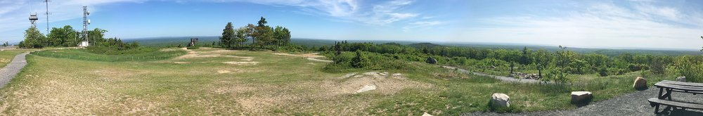 -- Photo by Fredlyfish    At the top of Mount Agamenticus, in York.