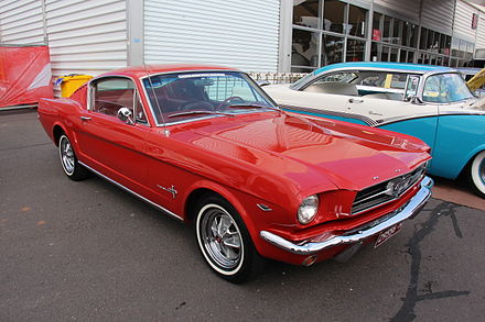 A  mid-'60s Mustang.