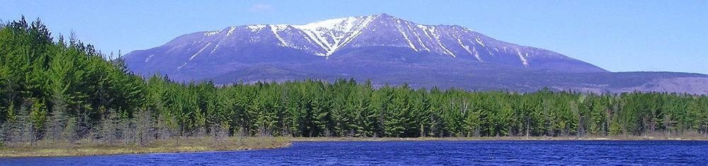 Mt. Katahdin, in Maine's North Woods.