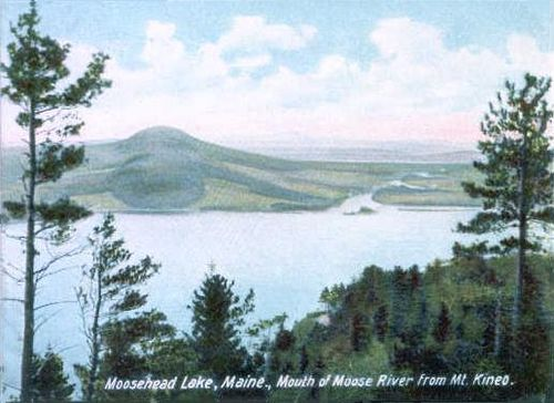 Moosehead, also in the North Woods, is the biggest lake in a state with lots of them.