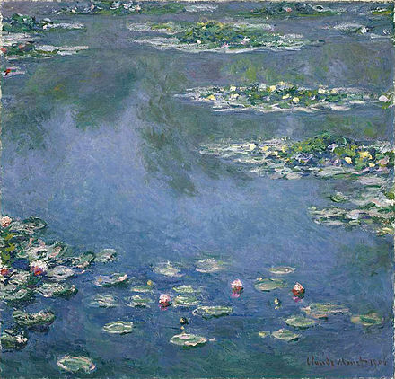 One of Monet's many water lily paintings.