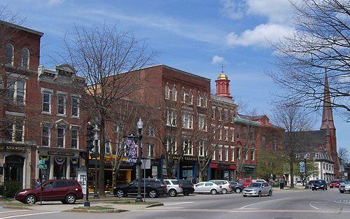 Downtown Keene.