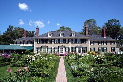 Hildene, the estate of Robert Todd Lincoln.