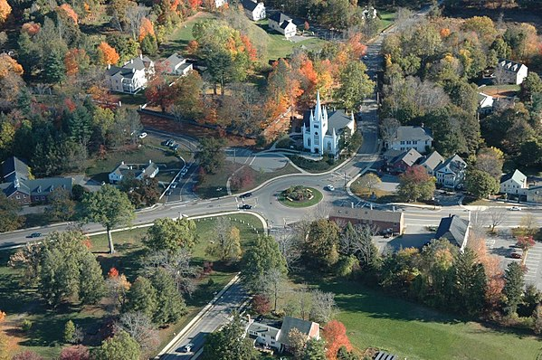 The Old Center of North Andover, Mass.