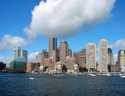 Boston's Financial District.