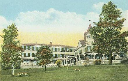 Hotel Pemigewasset in 1922