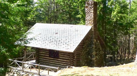 Edward MacDowell's composing cabin.