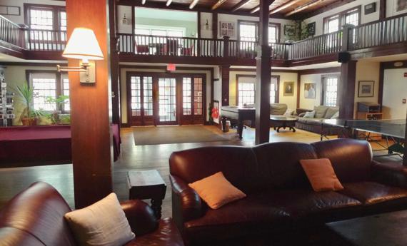 Colony Hall.