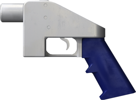 """The """"Liberator'' — a 3D-printable single shot handgun, the first such printable firearm design made widely available online."""