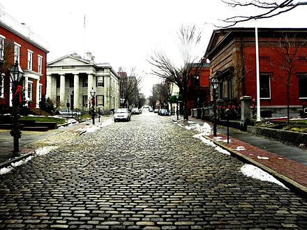 William Street, in the historic heart of New Bedford.